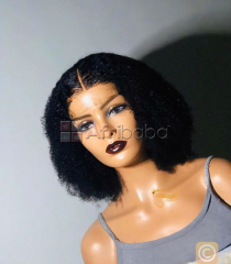 Afro kinky lace front wig