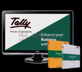Tally erp 9 vat accounting software+training