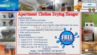 Apartment Bathroom Clothes Drying Hangers Dar Es Salaam Tanzania