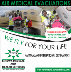 Air medical evacuations services