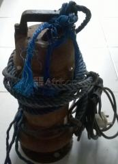 Submersible Drainage Water Pump for rent