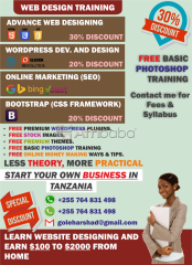 Website Design Classes In Arusha