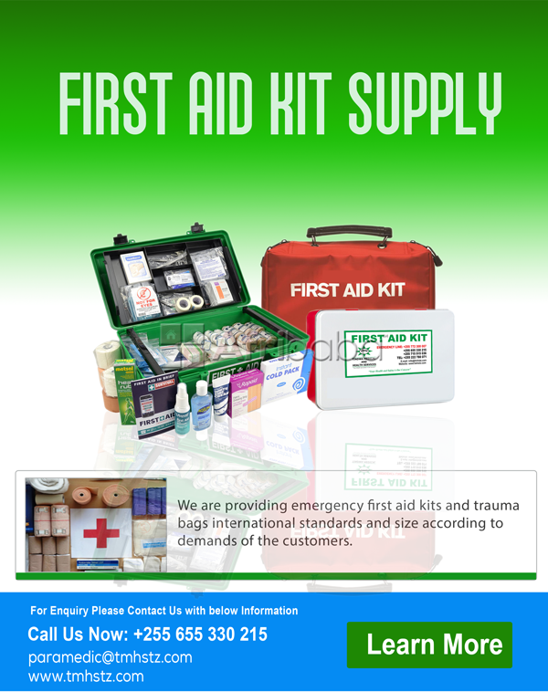 First Aid Kit Supply
