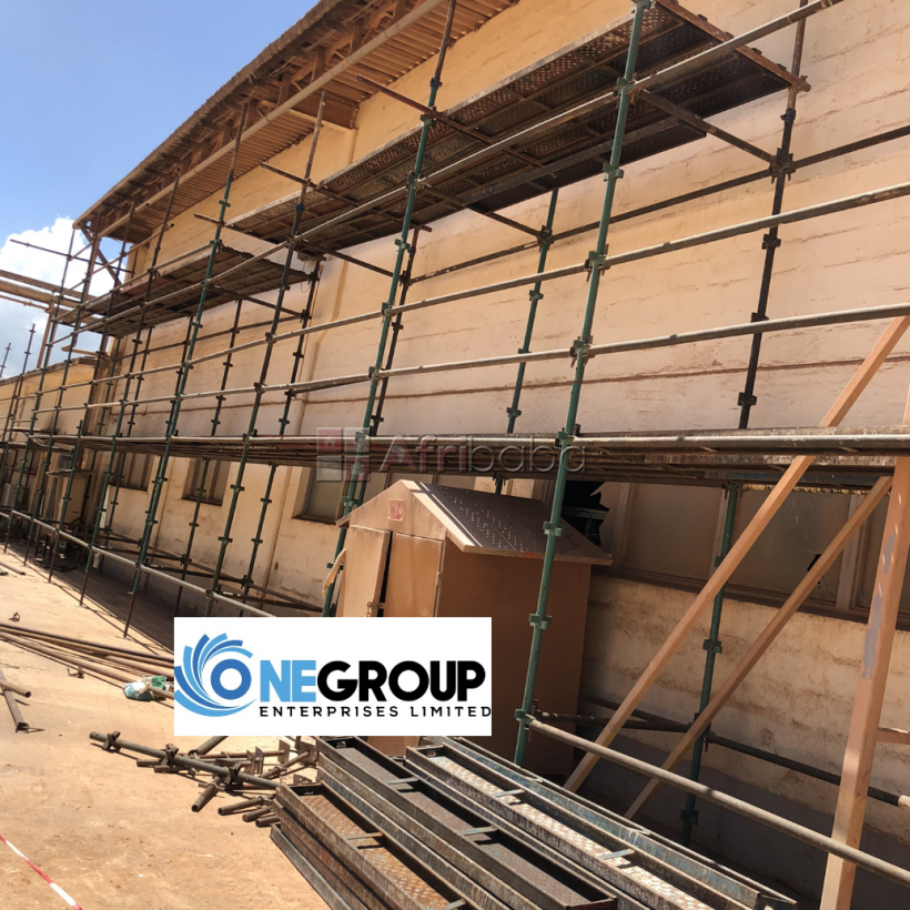 Scaffolding and formworks solution #1