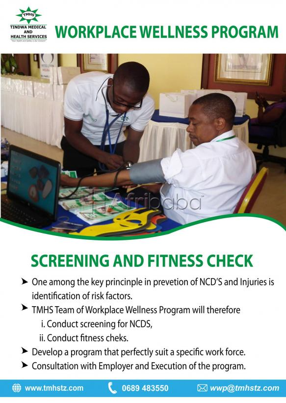 Workplace Wellness Program- Tindwa Medical and Health Services