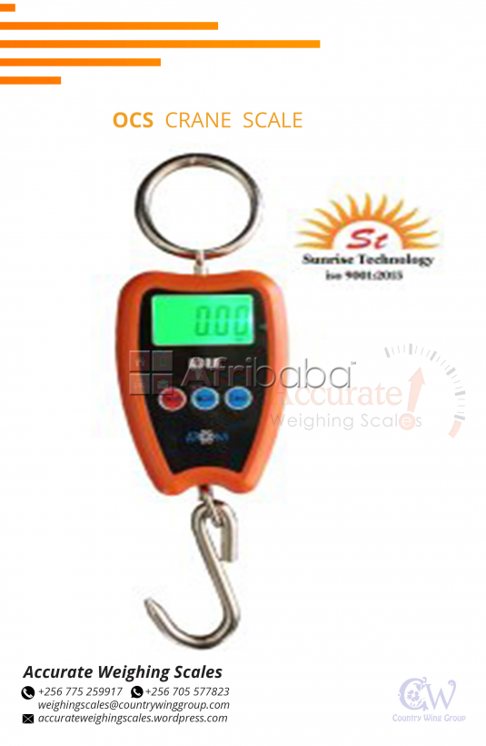 Where can i buy a ocs crane scale with rechargeable battery in kampala #1