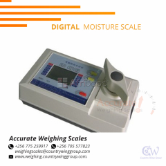 What is the cost of a portable moisture meter in Kampala