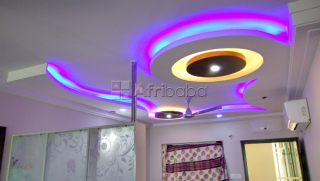 Gypsum ceilings in entebbe(u)