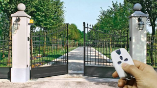 Swing automatic gate remote control