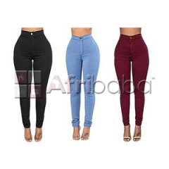 Pack of 3 High-waist Jeans