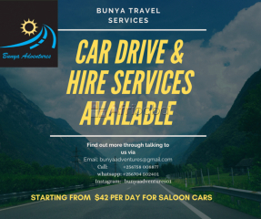 Car drive & Hire services at fair rates