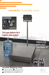 Avery Platform Weighing Scales in Eas Africa.