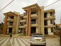 Newly built apartments at Muyenga