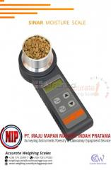 Digital grain moisture analyzer with tare functions for agriculture