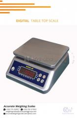 Improved washdown weighing with double led backlit