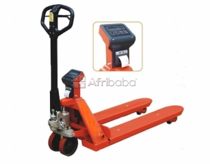 Accurate Pallet Truck Weighing Scales in Uganda