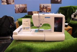 Computerized Embroidery & Sewing machine