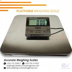 Industrial platform weighing scale IP67 protection in store