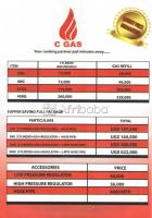 CGAS offers the complete cooking setup including GAS and BURNERS