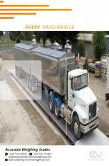 Avery weighbridge trucks scales with anti-vibrating design