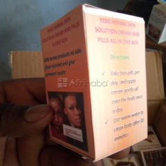 Yeso herbal skin lightening cream and pills call/whats app
