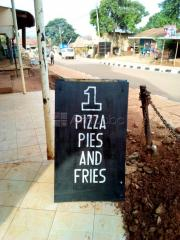Number 1 Pizza Pies and fries  in Entebbe