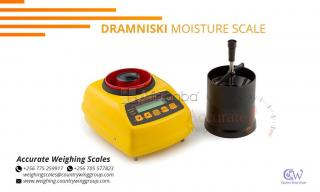 Dramniski grain moisture meter with temperature resolution readings