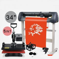 Heat press + Vinyl Cutting Plotter