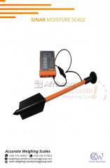 Moisture meter with probe length 200mm in supplier shops