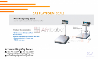 CAS Platforms for your Weighing Needs.