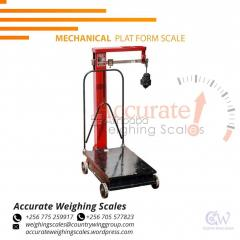 Industrial platform weighing scale with LCD display Kamuli