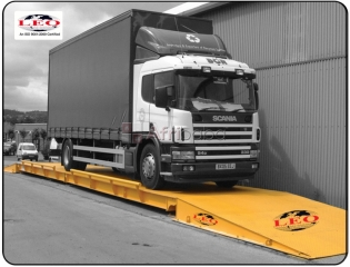 Accurate Portable Weighbridge Truck Scales in Uganda