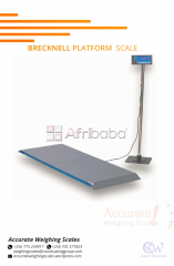 What is the price of a Brecknell Platform Scale in Kampala