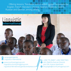 Excellent Chinese Lessons in Kololo.