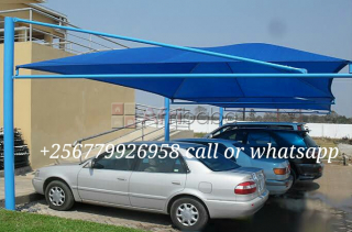 Car shade car pot