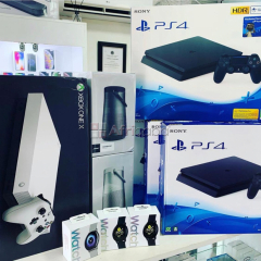 sony ps4 pro playstation 4 pro 1tb game consoles + 10 games & 2 wirel