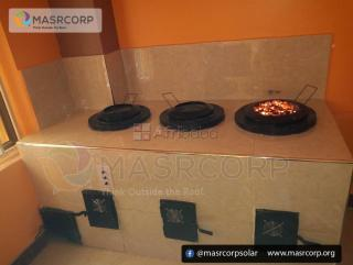 Masrcorp 3 Burners Solar Aided Eco Stove Kitchen energy saving stove