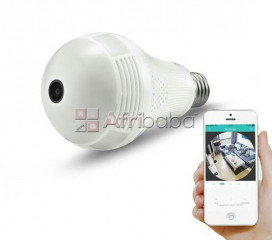 Led light spy cctv camera