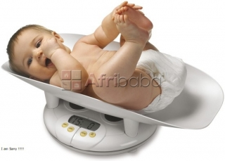 Sensortronic Baby Weighing Scales in Uganda