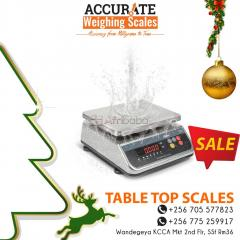 How much is a water proof table top weighing scale in Kampala Uganda