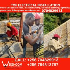 Professional Electricians in Electrical Wiring in Uganda