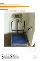 Used Platform Weighing Scales in Uganda.