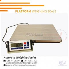 Industrial warehouse floor  scale with  days Luwero
