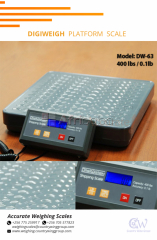 Digiweigh Portable Platform Scales in Uganda.