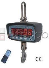 Wireless 50kgs crane weighing scale / hanging scale
