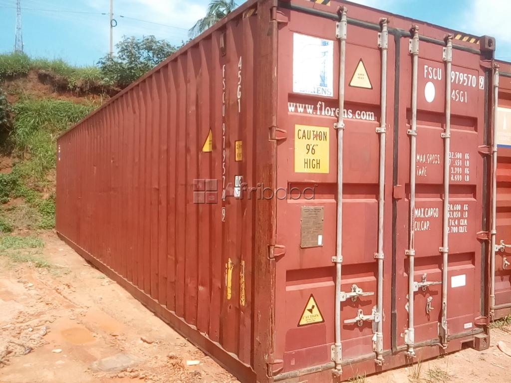 40ft used cargo containers on sale at 14m in Banda, Kampala #1