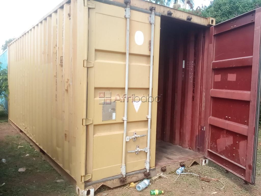 We sell containers of various prices in Banda and Bweyogerere #1