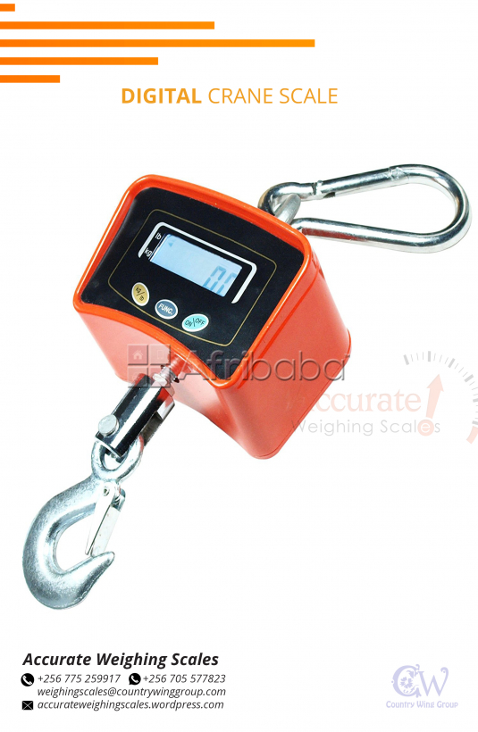 Heavy duty crane scales of different models in stock Kampala Uganda