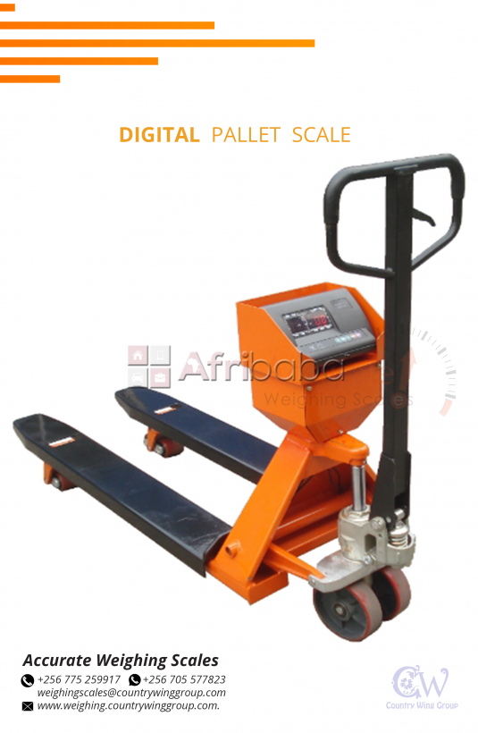Which shop in Kampala supplies Pallet Truck Scales in Uganda #1