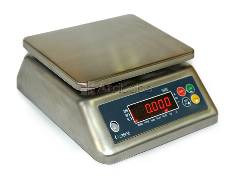 Stainless steel material table top weighing scales